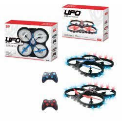 Toys-shop D.I Drone Τηλεκατευθυνόμενο Ελικοφόρο UFO 2.4Ghz Four Axis Aircraft JF051832 5202015518326