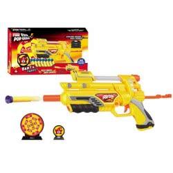 Toys-shop D.I FDX EVA POP GUN Όπλο με αφρώδες σφαίρες και στόχους JG022655 5202015226559