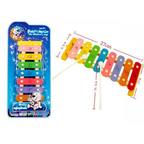 Toys-shop D.I Ξυλόφωνο Με 8 Νότες JM024861 5202015248612