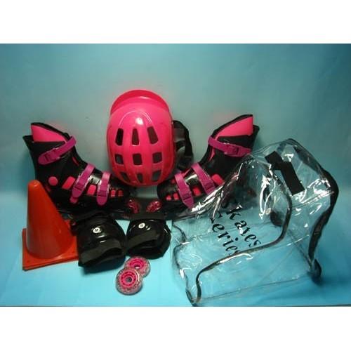 Toys-shop D.I Roller Skate Με Προστατευτικά Και Κράνος JS045898 5202015458981