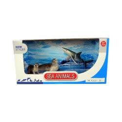 Toys-shop D.I Benteng Sea Animals Φώκιες και καρχαρίας Σετ JZ042399 5202015423996