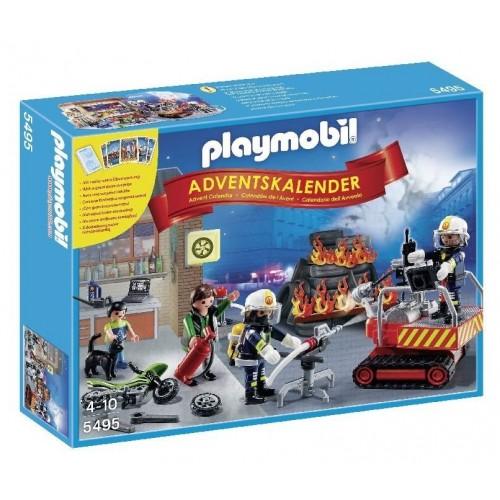 Playmobil Χριστουγεννιάτικο Ημερολόγιο Επιχείρηση Πυρόσβεσης 5495 4008789054951