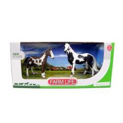 Toys-shop D.I Benteng Farm Life Άλογα Σετ JZ042376 5202015423767