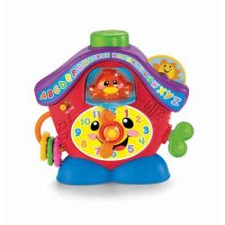 Fisher-Price Εκπαιδευτικό Ρολόι R7160 027084843989