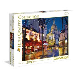 Clementoni Παζλ 1500τεμ Paris  Montmartre 1220-31999 8005125319992