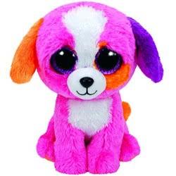 ty Beanie Boos Λούτρινο Σκύλος Ροζ 15 εκ. 1607-37188 008421371884