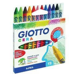 Giotto Cera Κηρομπογιές 9cm 12τμχ 0045729 8000825059001