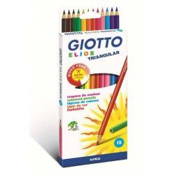 Giotto Elios Ξυλομπογιές τριγωνικές 12τμχ. 0114739 8000825275807