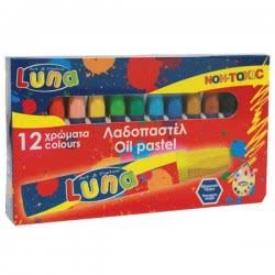 LUNA OFFICE Luna Λαδοπαστελ 12 τεμ 0620326 5205698126345