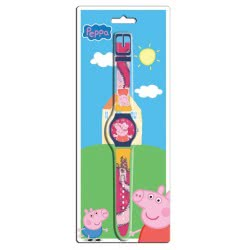Diakakis imports Ρολόι Χειρός Peppa Pig Σε Clamshell 0480718 5205698170843