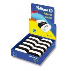 Pelikan Γομολάστιχα Πλαστική Squeezy Sq 20  Μαύρο &Άσπρο 621185 4012700621184