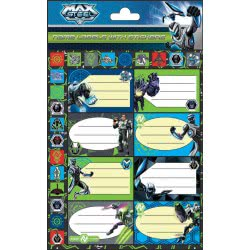 GIM Ετικέτα Max Steel 779-60149 5204549083196