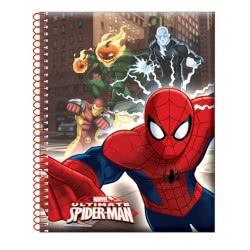 GIM Μπλοκάκι Σπιράλ 9X11.5 Spiderman Ultimate 337-62480 5204549082809