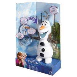 Mattel Disney Frozen Όλαφ Χιονάνθρωπος Με Ήχους And Μουσική DGB75 887961186284