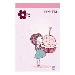 A&G PAPER Τετράδιο Καρφίτσα Β5 40Φ Pepitta 019730  5203296197309