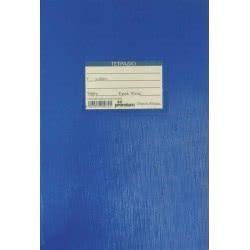 A&G PAPER Τετράδιο Καρφίτσα Β5 Καρέ 9X9 Μπλε 50Φ Premium 15874 5205616158748