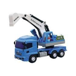 Toys-shop D.I Friction Αυτοκούρδιστο Τριβής Φορτηγό Γερανοφόρο JA060562 6990416605620