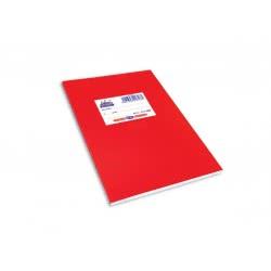 SKAG Τετράδια Super Διεθνές Πλαστικά Χρωματιστά Α5 50Φ 70Γρ Κόκκινα 227483 5201303227483