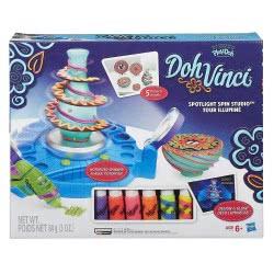 Hasbro Play-Doh Dohvinci Spotlight Spin Studio B1718 5010994873950