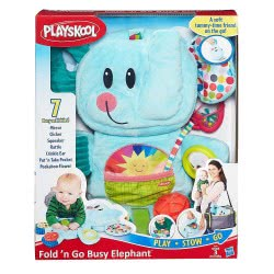 PLAYSKOOL FOLD N GO BUSY ELEPHANT B2263 5010994884932