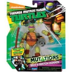 GIOCHI PREZIOSI Χελωνονιντζάκια TMNT Φιγούρες 10 Εκ. Mutations Turtles GPH903902 8001444149869