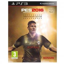 KONAMI PS3 Pro Evolution Soccer Pes 2016 Anniversary Edition 4012927058497 4012927058497
