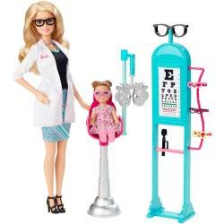 Mattel Barbie Οφθαλμίατρος Σετ Παιχνιδιού CMF42 887961153125