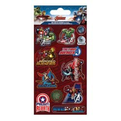 GIM Αυτοκόλλητα Sticker Fun Foiled Shaped Marvel Avengers 777-53817 5204549096219