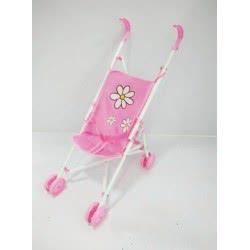 Toys-shop D.I Καροτσάκι Κούκλας Μπαστούνι ροζ JH013962 6990416139620