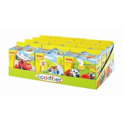 ecoiffier ABRICK PRESENTOIR PETITS THEMES P16112 3280250161127
