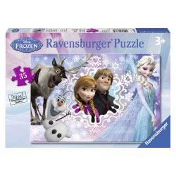 Ravensburger Παζλ Disney Frozen 35 Κομμάτια 05-08766 4005556087662