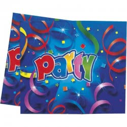PROCOS ΤΡΑΠΕΖΟΜΑΝΤΗΛΟ DECORATA PARTY STREAMERS PRISMATIC 120X180 008806 5201184088067