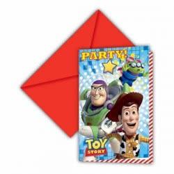 PROCOS Προσκλήσεις Toy Story Star Power Disney 081542 5201184815427
