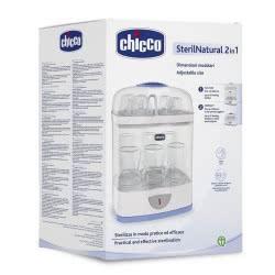 Chicco Sterilnatural 2 Σε 1 - Ηλεκτρικός Αποστειρωτής Ατμού Με Ρυθμιζόμενες Διαστάσεις D10-07392-00 8058664040827