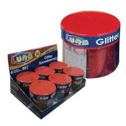 Diakakis imports LUNA GLITTER ΣΚΟΝΗ 6ΧΡΩΜΑΤΑ 50gr 0620439 5205698163326
