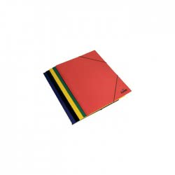 Diakakis imports Φάκελος Με Λάστιχο Κόκκινος 0601544 5205698023606