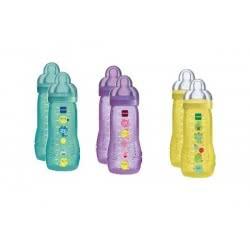 MAM Baby Bottle Mπιμπερό 330ml Διπλή Συσκευασία 4+ μηνών 365S 9001616672811
