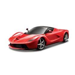 Bburago 1/24 La Ferrari 2ΧΡ. ΑΣΠΡΗ ΚΑΙ ΚΟΚΚΙΝΗ 18/26001 4893993260010