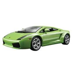 Bburago 1/24 Lamborghini Galardo 2ΧΡ. ΜΠΟΡΝΤΟ ΚΑΙ ΛΑΧΑΝΙ 18-22051 4893993220519