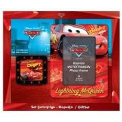 Disney Σετ Ξυπνητήρι Και Κορνίζα Cars F2601 8711384055372