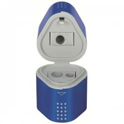 Faber-Castell Τριπλή ξύστρα Grip φούξια/μπλε 183801 4005401838012