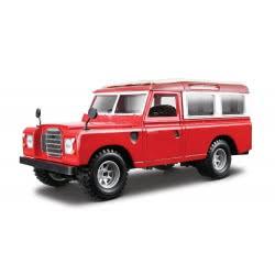 Bburago 1/24 Land Rover Κόκκινο Με Άσπρα 18/22063 4893993220632