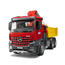 bruder Φορτηγό Mercedes Μεταφοράς Παλετών Με 2 Παλέτες/2 BR003651 4001702036515