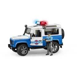 bruder Τετρακίνητο όχημα Land Rover Αστυνομίας με αστυνο BR002595 4001702025953