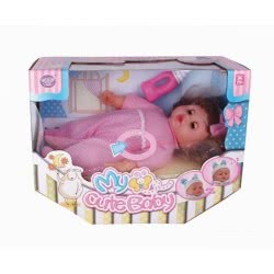 Toys-shop D.I Baellar Κούκλα Μωρό 30Εκ. Με Διάφορα Αξεσουάρ JO062529 6990416625291