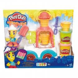 Hasbro Play-Doh Town Παγωτατζίδικο Όχημα Ice Cream Truck B3417 5010994942526