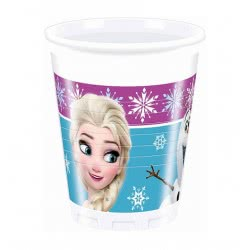 PROCOS Ποτήρια Frozen Northern Light Disney 8Τεμ 086756 5201184867563