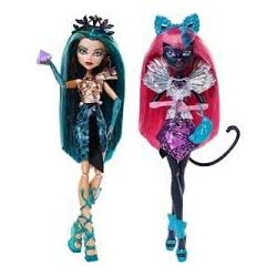Mattel Monster Υόρκη - Οι Αντίζηλες (2 Σχέδια) CJF30 887961095142