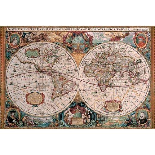 Ravensburger Παζλ 5000Τεμ. Ιστορικός Χάρτης 17411 4005556174119