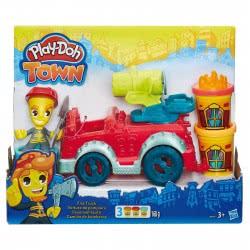 Hasbro Play-Doh Town Πυροσβεστικό Όχημα Fire Truck B3416 5010994942502